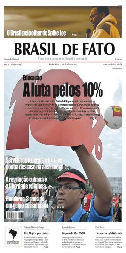 edição 489 do Brasil de Fato
