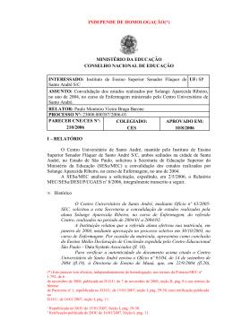 Parecer CNE/CES nº 210/2006, aprovado em 10 de agosto de 2006