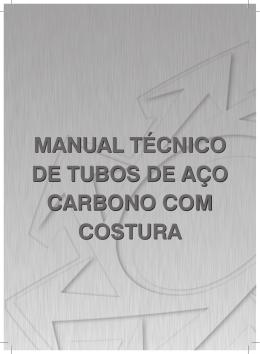 manual técnico de tubos de aço carbono com