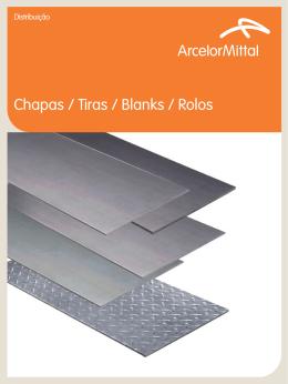 Chapas / Tiras / Blanks / Rolos
