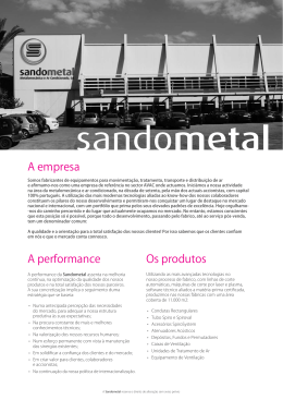 mais - sandometal