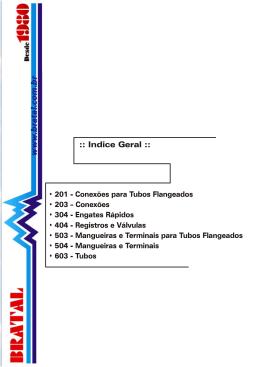 Catálogo de Conexões Tubos Ermeto