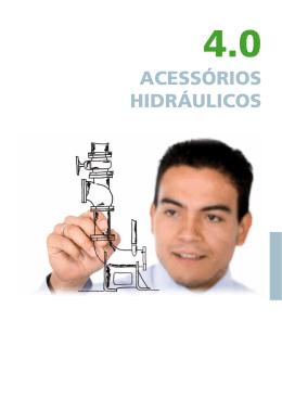 Catálogo de acessórios hidráulicos 50Hz
