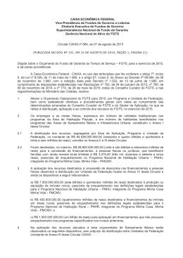 CAIXA ECONÔMICA FEDERAL Vice-Presidência de Fundos de