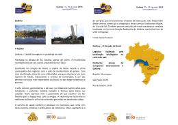 Goiânia A Capital Goiânia – Capital de negócios e qualidade de