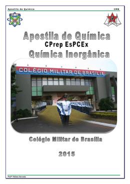 Apostila de Quimica Inorgânica. - Portal