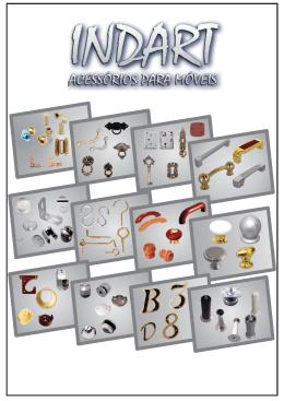 Catalogo em PDF Indart Puxadores