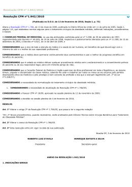 Resolução CFM n°1.942/2010