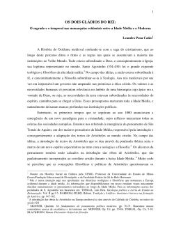 Leandro Catão - revista tempo de conquista