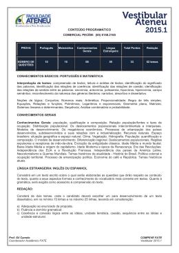 CONTEÚDO PROGRAMÁTICO PECEM_2015.1