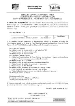 Edital convocação 12-2015 ROBERTO BATISTA DA SILVA FILHO.d…