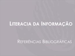 Referências Bibliográficas - Agrupamento Escolas João da Silva