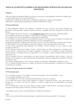 Manual da Revista Jurídica MP-AM(1)