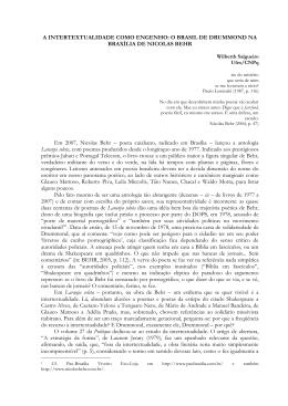 A intertextualidade como engenho: O Brasil de