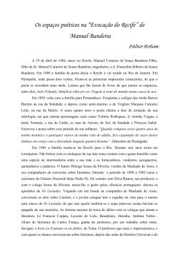 No ano de 1886, Manuel Carneiro de Sousa Bandeira Filho