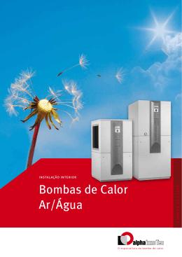 Bombas de Calor Ar/Água Interior