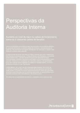 Perspectivas da Auditoria Interna