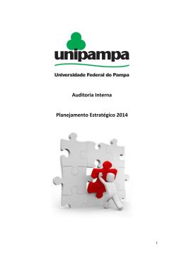Planejamento Estratégico da Auditoria Interna – 2014