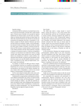 Editorial e perspectivas | Editorial and perspective Arte Médica