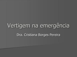 Vertigem na emergência