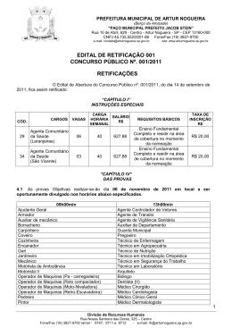 retificação i - PCI Concursos