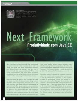 Next Framework – Produtividade com Java EE