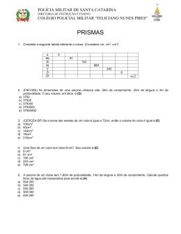 PRISMAS - Colégio Policial Militar Feliciano Nunes Pires
