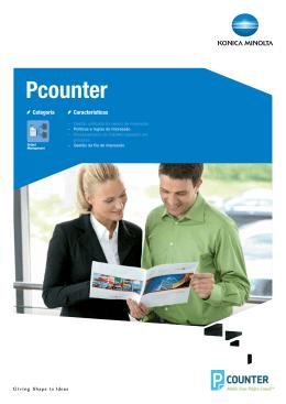 Ficha Técnica Pcounter, PDF