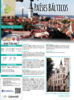 Tallin, city tour