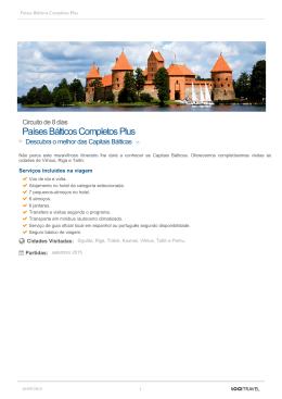 Países Bálticos Completos Plus