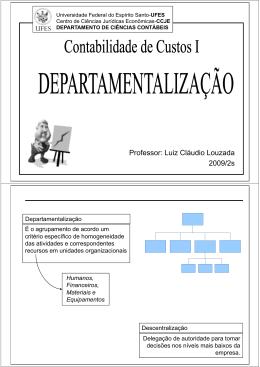 Professor: Luiz Cláudio Louzada 2009/2s