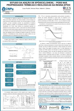 Influência da funcionalidade de nanogaiolas de silsesquioxano