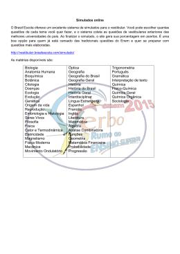 Biologia Anatomia Humana Bioquímica Botânica Citologia Doenças