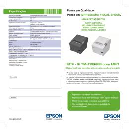 ECF - IF TM-T88FBIII com MFD