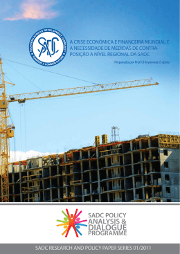 sadc policy analysis & dialogue programme