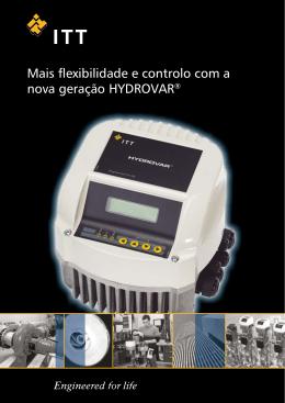 Mais flexibilidade e controlo com a nova geração HYDROVAR®
