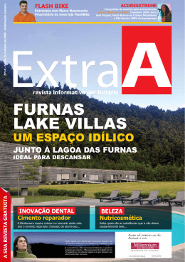 FURNAS LAKE VILLAS - Revista Extra A | Açores