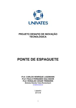 PONTE DE ESPAGUETE