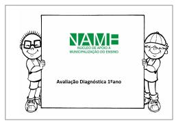 Avaliação Diagnóstica 1ºano