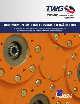 ACIONAMENTOS DAS BOMBAS HIDRÁULICAS