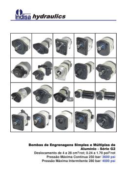catálogo indisa - bombas aluminio