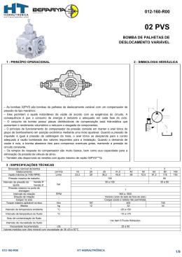 02 PVS - HT-Hidrautrônica Sistemas Hidráulicos LTDA