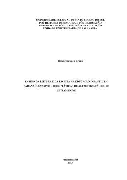 ROSANGELA SUELI BRUNO DE OLIVEIRA