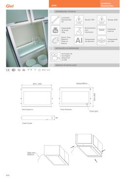Baixar PDF de Informações Técnicas