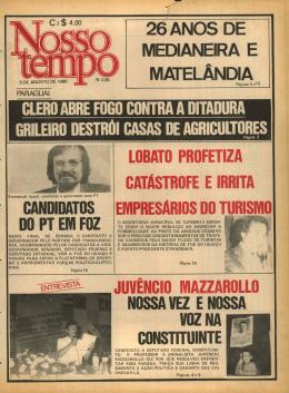 26 ANOS DE MEDIANEIRA E MATELÂNDIA