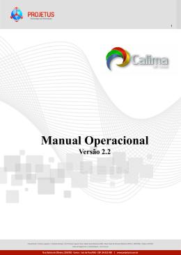 Manual Operacional Versão 2.2