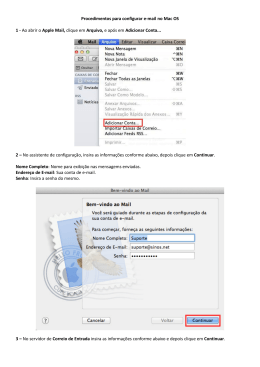 Apple Mail - Sinos.net