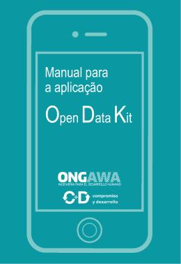 Manual para a aplicação OpenDataKit