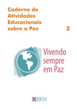 Caderno de Atividades Educacionais sobre a Paz