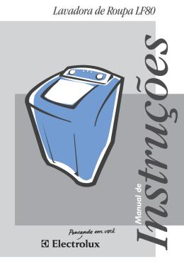 Lavadora de Roupa LF80